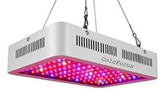 ColoFocus LED Indoor Plants Grow Light Kit, Full Spectrum with UV&IR for Indoor Greenhouse Plants Veg and Flower Growing Plants Indoors, Grow Lights For Plants, Led Grow Lights, All Plants, Tall Indoor Plants, Outdoor Plants, Greenhouse Plants, Look Good Feel Good, One With Nature