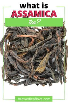 Assamica tea is a strain of black tea (Camellia sinensis) that originates from the lowlands of northern India. How is it different from regular black tea and what does assamica tea taste like? Tea Benefits, Tea Recipes, Camellia, India, Healthy, Ethnic Recipes, Black, Food, Goa India