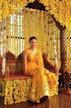 "Perfect Dress for ""Haldi"""