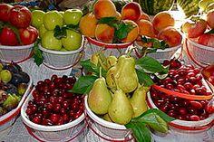 7 frutas y 7 verduras para bajar de peso