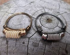 UPCYCLED Custom Re-purposed Guitar String RINGS by alexart on Etsy https://www.etsy.com/listing/194171777/upcycled-custom-re-purposed-guitar