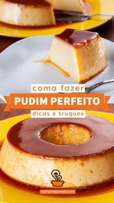 1 million+ Stunning Free Images to Use Anywhere Portuguese Desserts, Portuguese Recipes, Creme Caramel, Healthy Deserts, Frozen Treats, Cupcake Cakes, Sweet Tooth, Food And Drink, Gelato