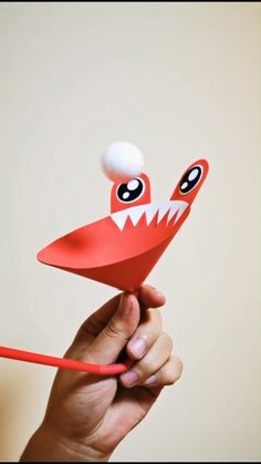 DIY Flying Ping Pong Ball - A simple tutorial to show you how to DIY a blowing ping pong ball device to make it fly. Paper Crafts Origami, Paper Crafts For Kids, Craft Activities For Kids, Preschool Crafts, Toddler Activities, Projects For Kids, Paper Crafting, Diy For Kids, Diy Projects