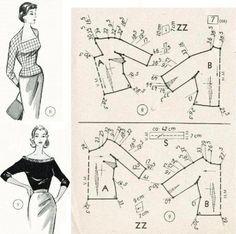 Ретро-мода, шитье, книги, выкройки