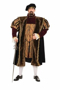 Game of Thrones - King Robert Baratheon Costume. Find the best King Robert Baratheon costumes for men and dress up as a king for Halloween. He is King of the Seven Kingdoms. Tudor Costumes, Cool Costumes, Adult Costumes, Vintage Costumes, Santa Costumes, Period Costumes, Costume Ideas, Renaissance Costume, Renaissance Fashion