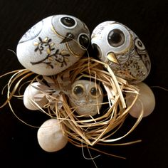 goldeneggstudio: Owls on the way to their new home!