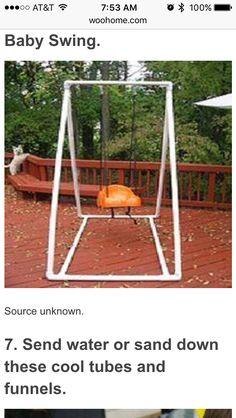 PVC Baby swing