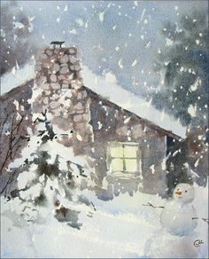 Watercolors by Maria Stezhko