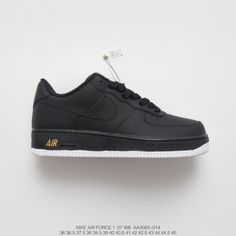 26a1095914dbf $79.00 Nike Black And White Logo,AA4083-014 Limited edition Nike Air Force 1