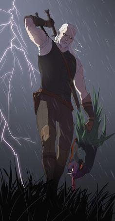 Geralt, the White Wolf