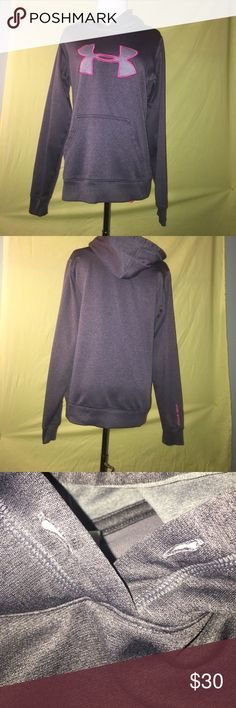 UA Under Armour Hoodie/ Sweatshirt UA Hoodie - Gently used - Only sign of wear is the string missing out of the top of the hood (see picture) Under Armour Tops Sweatshirts & Hoodies