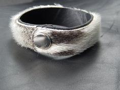 Image of Sealskin Soft Cuff with Snap Closure Jewelry Art, Jewelry Bracelets, Jewelry Design, Jewlery, Leather Jewelry, Leather Craft, Leather Design, Leather Working, Headbands