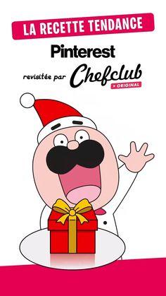 Xmas Food, Christmas Cooking, Xmas Desserts, Creative Food Art, Food Garnishes, Chocolate Decorations, Vintage Cartoon, Food Presentation, Christmas Treats
