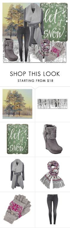 """""""Winter time"""" by katymaybepsycho ❤ liked on Polyvore featuring Pier 1 Imports, G by Guess, Jane Norman, even&odd and 7 For All Mankind"""
