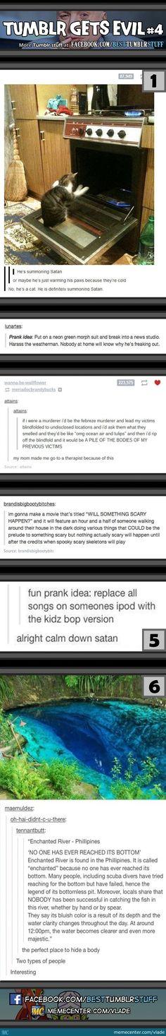 Tumblr Gets Evil