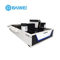 10mm mild steel cutting machine price for 750w factory fiber laser cutting machine. --Baiwei Laser. sales01@baiweilaser.com
