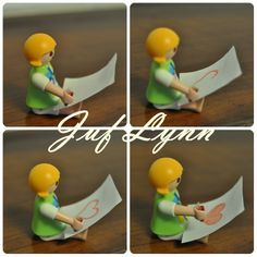 Make your own logical sequence with Playmobil :-) !