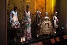Colleen Hill, associate curator of The Museum at New York's Fashion Institute of Technology (FIT), has organized a fascinating new exhibit that transports the viewer on a magic carpet ride into the dazzling cosmos of fantasy and magic // inventor spot // #fairytalefashion