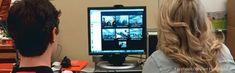 Online mentoring between high school and college students.