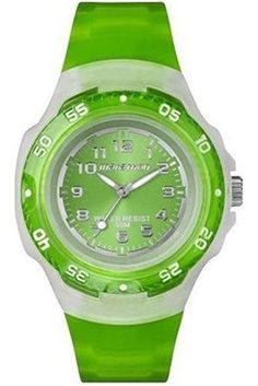 T5K366 - #Timex Marathon Quartz #Lady's #Watch with Green Rubber Strap and Green Dial