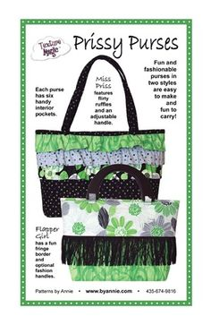 2a453d34c7 Prissy Purses Purse Styles, Table Runners, Diaper Bag, Carry On, Sewing  Ideas