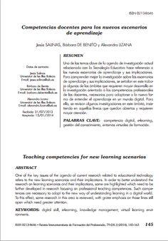 Competencias docentes para los nuevos escenarios de aprendizaje / @gte_uib | #readytoteach #readytolearn #digitalearning