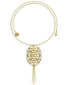 1AR by UnoAerre 18K Plated 32in Pendant is on Rue. Shop it now.