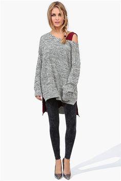 Licorice Leggings & oversized sweater