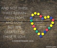 1 Corinthians 13:13 | Bible Verses