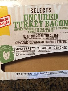 recipe: how many calories are in oscar mayer turkey bacon [34]