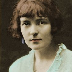 Small but beautifully coloured...Katherine Mansfield