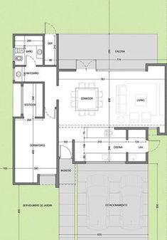 Architectural Floor Plans, Apartment Floor Plans, Loft House, Earthship, Loft Style, Home Design Plans, Deco, Architecture Details, House Plans