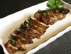 Asian Pork Tenderloin - This marinade would also be spectacular on chicken and flank steak.