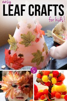 872 Best Fall Crafts For Kids Images Kid Crafts Activities