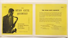 On Sale Jazz Printers proof The Stan Getz by TerenceLoveVintage