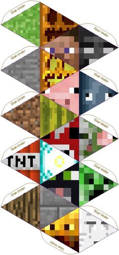 Papercraft 20 Sided Minecraft Die - Pixel paper craft-Present time? Minecraft Party, Minecraft Room, Cool Minecraft, Minecraft Crafts, Minecraft Houses, Minecraft Furniture, Creeper Minecraft, Minecraft Cake, Minecraft Perler