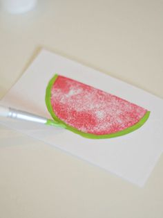 Create a Watermelon Stamp with your Silhouette