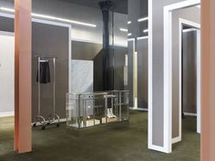 ACNE flagship store, New York store design   http://retaildesignblog.net/2012/06/26/acne-flagship-store-new-york/#