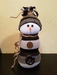 Another sock snowman I made https://m.facebook.com/mandyscottcreations/