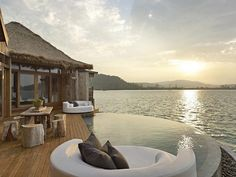 Song Saa Private Island Resort - this would be a romantic place for a vacation!