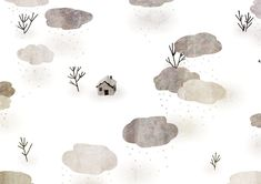 🏠🌨(winter landscapes are the easiest to draw-just leave everything white ☻) Illustrator, Winter Landscape, Easy Drawings, Photoshop, Animation, Instagram, Pattern, Gifs, Landscapes