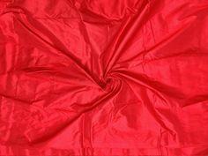 Marron Red Mulberry silk fabric/100% pure silk fabric, plain silk fabric made with handloom, Fabric by the yard by TheSLVSilks on Etsy Dupioni Silk Fabric, Raw Silk Fabric, How To Dye Fabric, Cool Fabric, Natural Protein, Silk Bedding, Mulberry Silk, 100 Pure