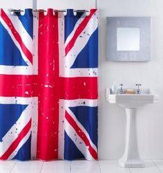 Duschvorhang Union Jack, shower curtain, 180 x 180 cm , http://www.amazon.de/gp/product/B007HM2CJQ/ref=cm_sw_r_pi_alp_XLqbrb03V21FN