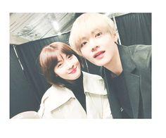 Ha Jiwon's Instagram update with V ❤️