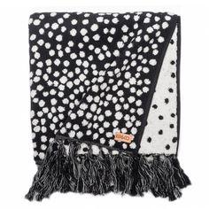 Kip&Co Freckles Bath Towel Bathroom Renovations, Bathrooms, Kid Spaces, Freckles, Linen Bedding, Bath Towels, Textiles, Black And White, Interior Design