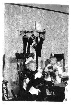 Christmas circa 1910 by phototrack123, via Flickr