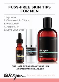 5 Quick and Easy Skin Care Tips for Men