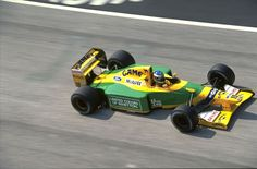 1992 San Marino Grand Prix Michael Schumacher Benetton B192