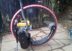 Mini Monowheel, 36 inch diameter wheel