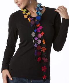 MultiColor Necklace: Danielle Gori-Montanelli: Jewelry Necklaces - Artful Home